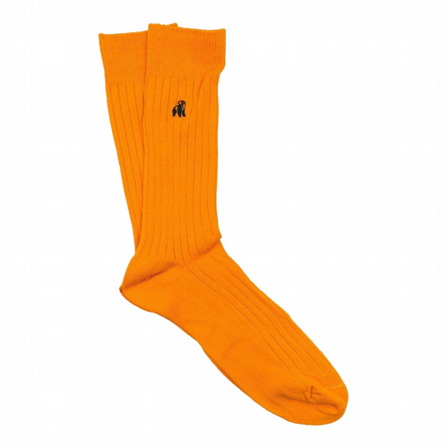 Bamboo Tangerine Orange Socks